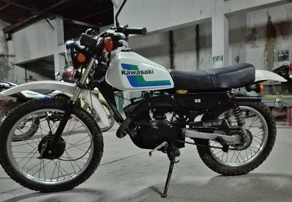Kawasaki KE 100 Motorcycle