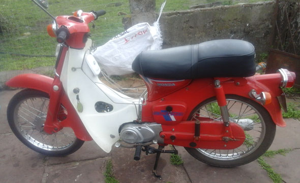 Moto Honda Econo Power 70