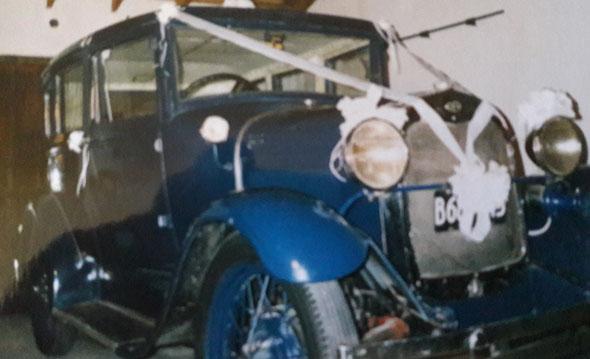 Auto Ford A 1928 Doble Phaeton