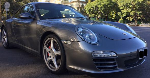 Auto Porsche Carrera 4S 911 PDK 3.8