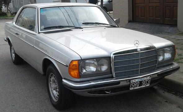 Auto Mercedes Benz 230 CE 1981 Aut