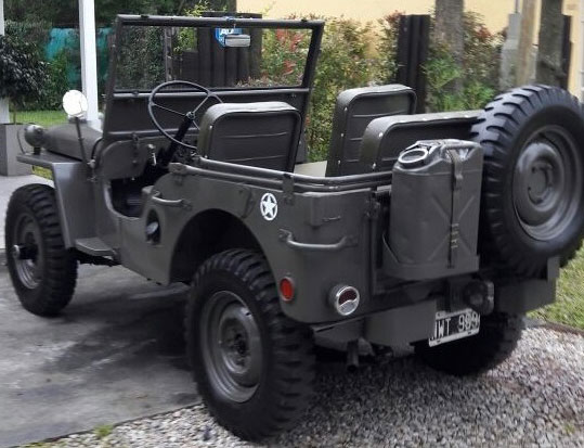 Auto Jeep Willys 1946