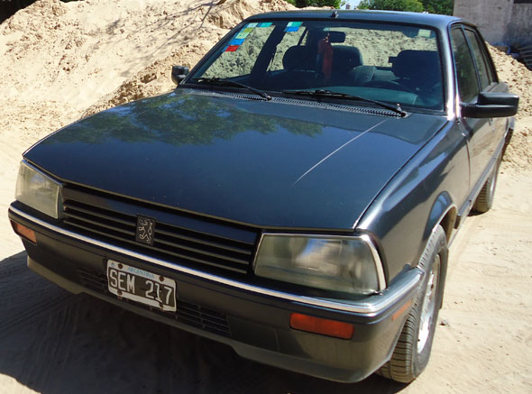 Auto Peugeot 505