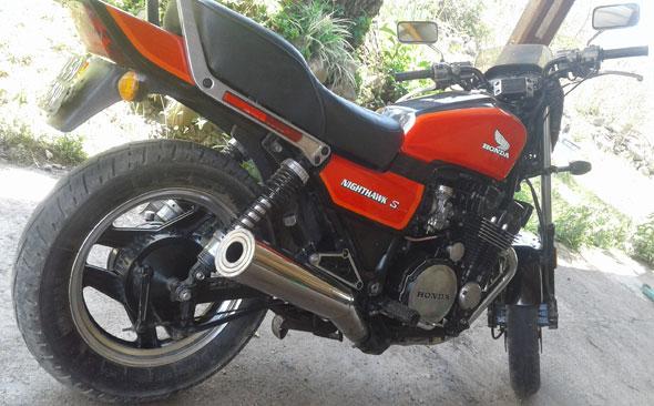 Honda Nighthawk 700S Motorcycle