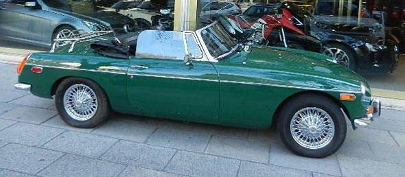 Auto MG B Cabriolet