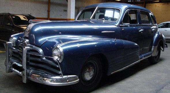 Auto Pontiac 1947