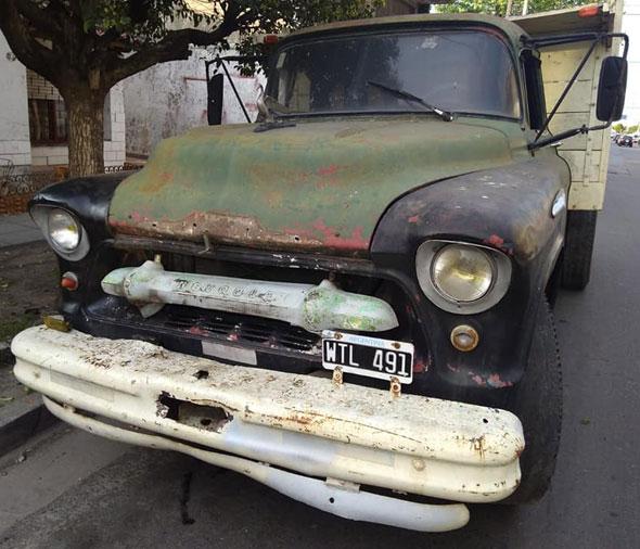 Auto Chevrolet 1957