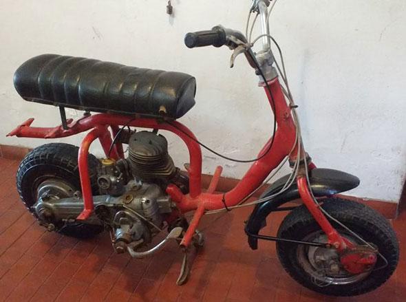 Siambretta 150 Motorcycle