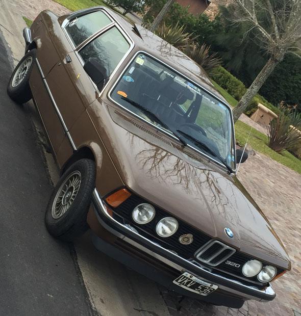 Auto BMW E21 320 1980