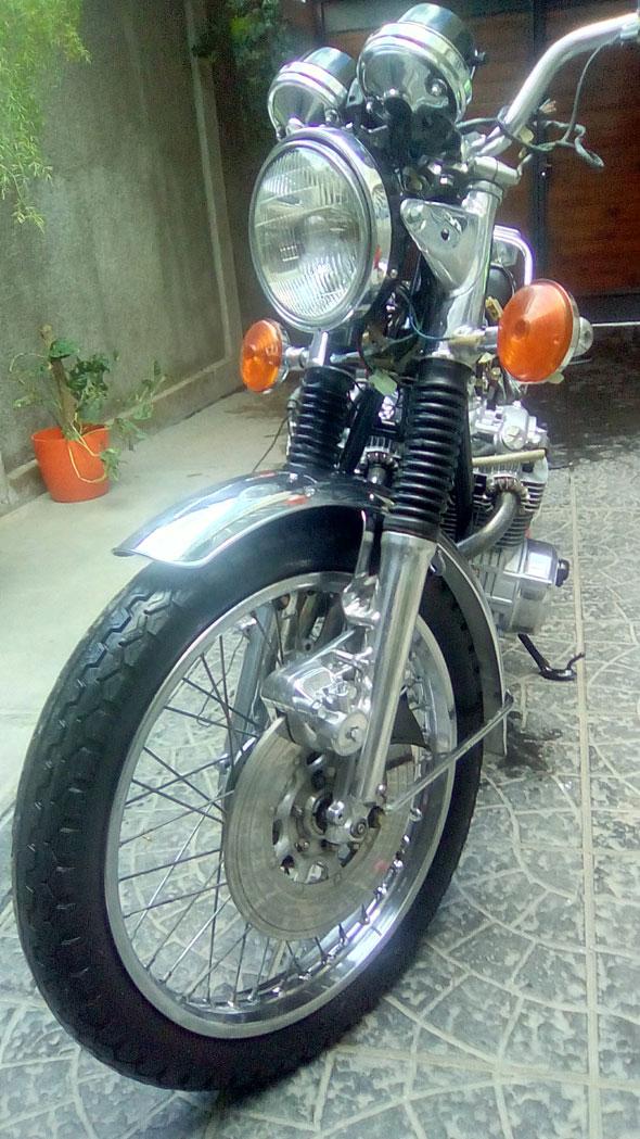Moto Honda CB 550 Four Super Sport