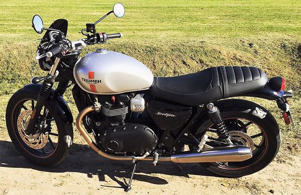 Triumph Street Twin Motorcycle