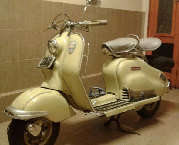 Moto Siambretta 125 LD