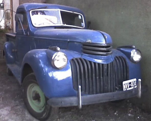 Auto Chevrolet 1941 Pick Up