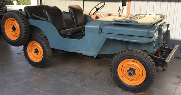 Car Willys CJ2A 1947