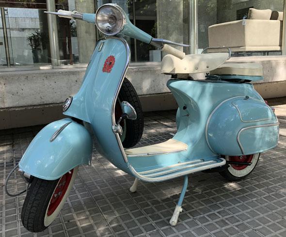 Vespa 1960 Motorcycle