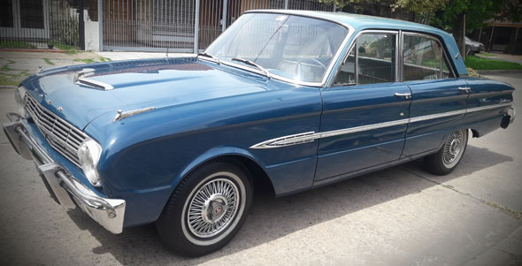 Auto Ford Falcon 1963