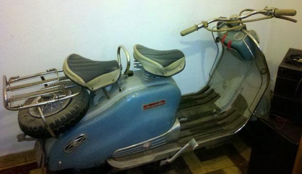 Moto Siambretta 1958