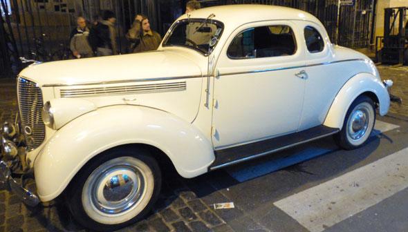 Auto Dodge Coupé 1938