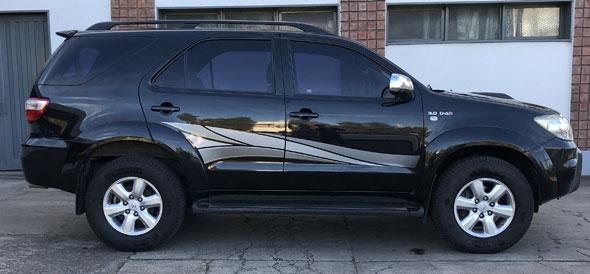 Auto Toyota SW4 3.0 2010 7A M/T 4x4