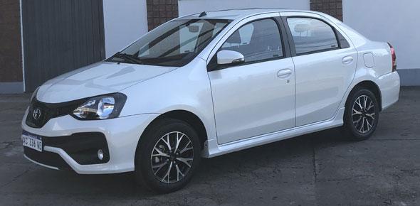 Auto Toyota Etios 1.5 XLS Aut