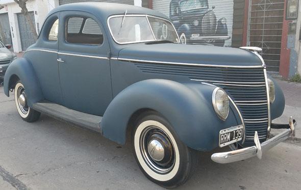 Auto Ford Coupé 1938 Std