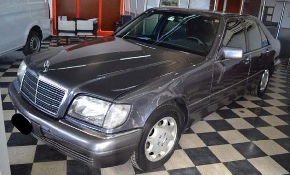 Auto Mercedes Benz S350 Diesel 1995