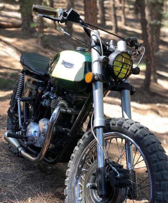 Triumph Bonnevielle 750 Motorcycle