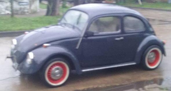 Auto Volkswagen 1958