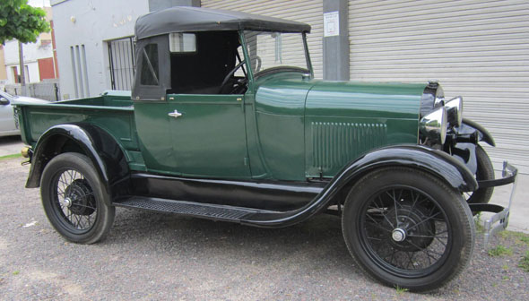 Auto Ford A Pick Up