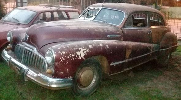 Auto Buick Eight 1947