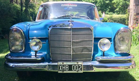 Auto Mercedes Benz 220 SB 1963