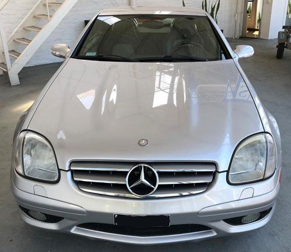 Auto Mercedes Benz SLK 32 AMG