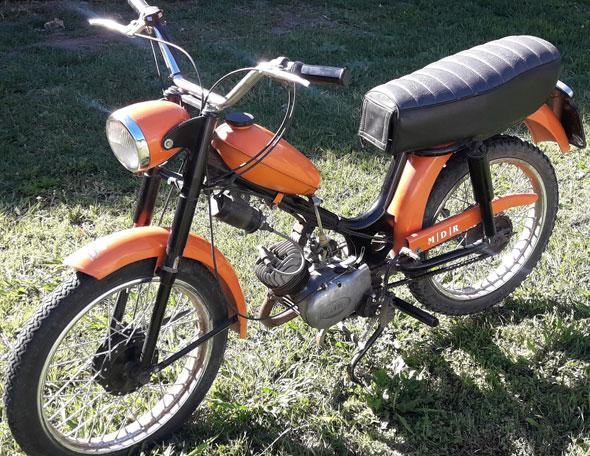 Moto Zanella 48 Bambina