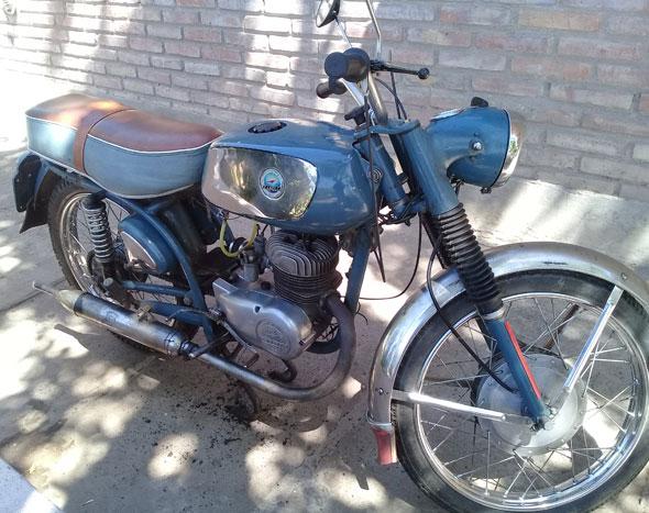 Zanella 125 Rutera Motorcycle