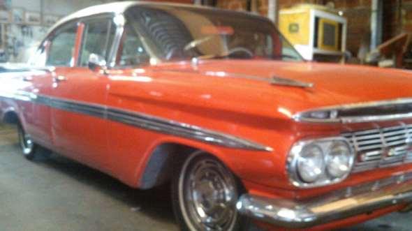 Auto Chevrolet 1959