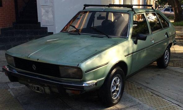 Auto Renault 20TS 1982