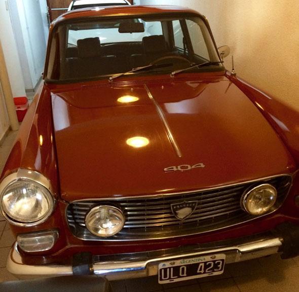 Auto Peugeot 404 1974