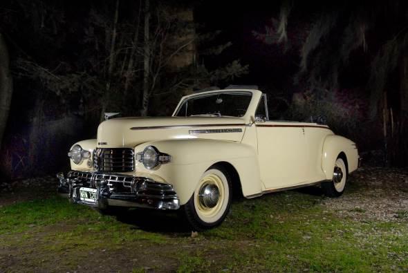 Car Lincoln Zephyr 1946