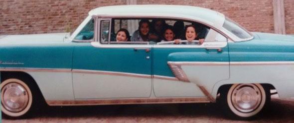 Auto Ford Mercury Montclair 1956