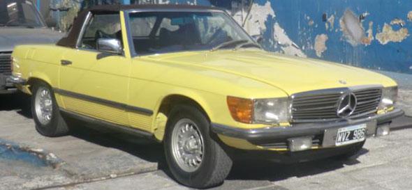 Auto Mercedes Benz 1979