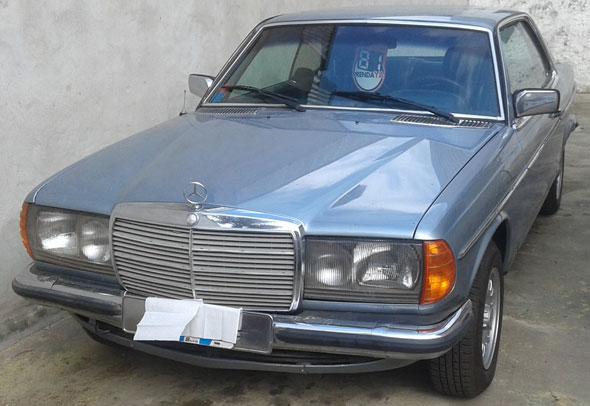Auto Mercedes Benz 230 CE