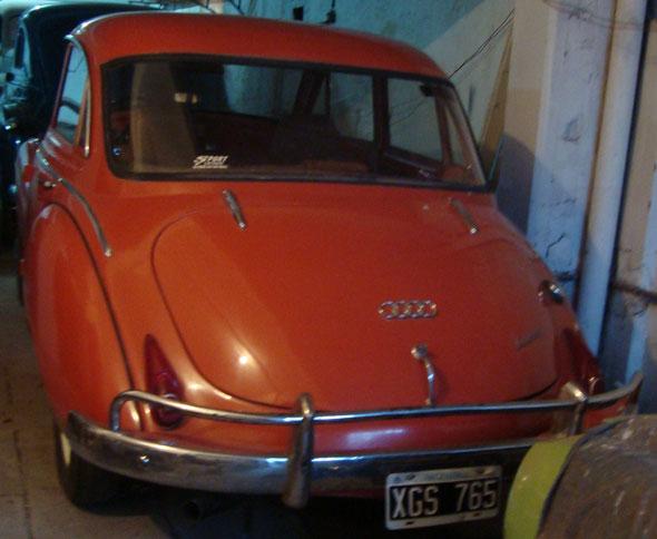 Car DKW Auto Union 1962