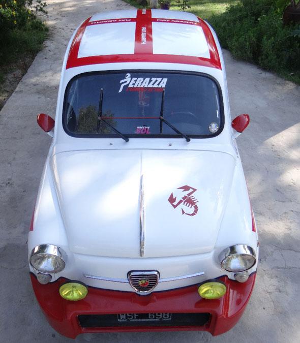 Car Fiat 600 Abarth