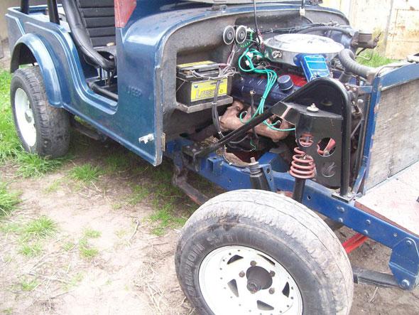 Auto Jeep Cobra Reciente