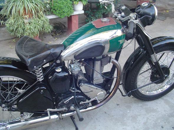 Moto BSA 500 1948