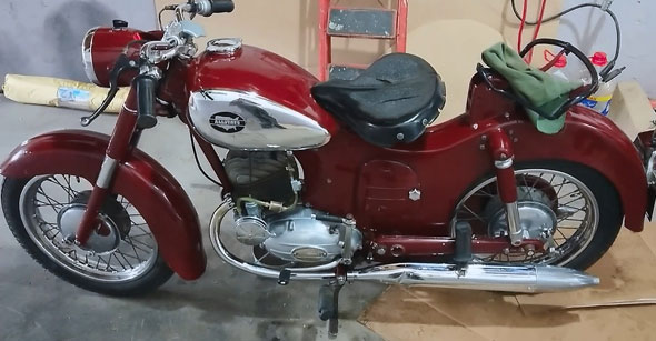 Allstate (Puch) 175 Motorcycle