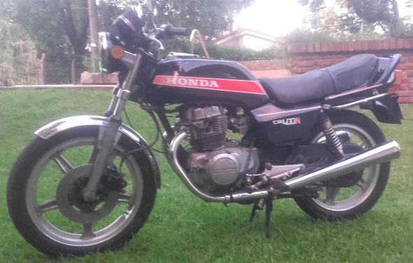 Honda CB1981 Motorcycle