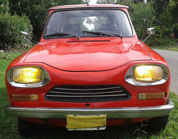 Auto Citroen AMI 8 Club