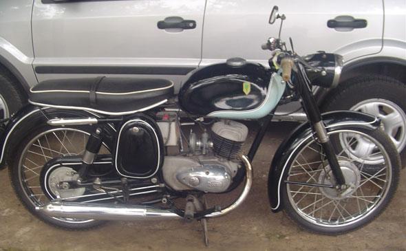 Moto DKW 125 1962