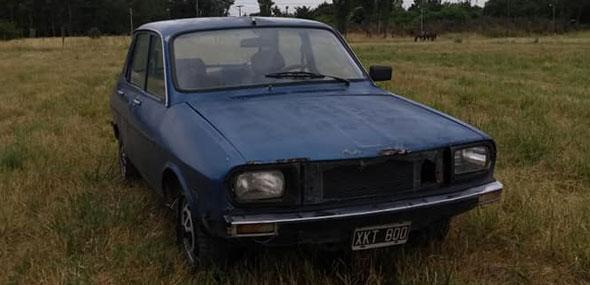 Auto Renault 12 1985